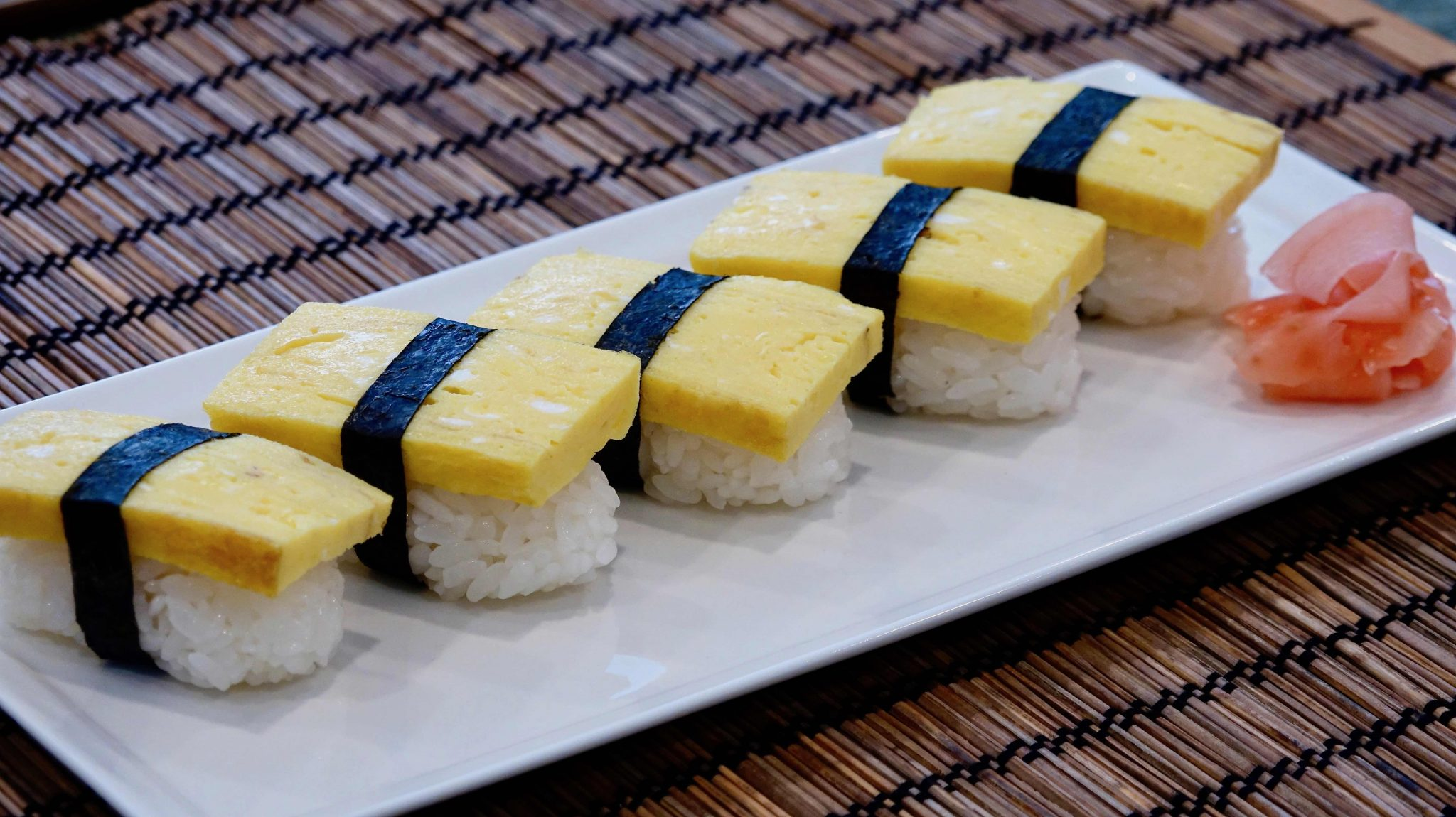 Tamago Sushi Recipe Japanese Cooking 101