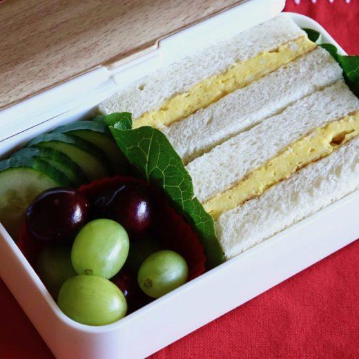 Tamagoyaki Sandwich Bento