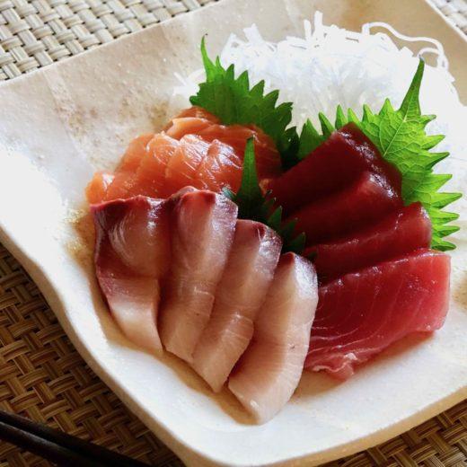 Sashimi recipe