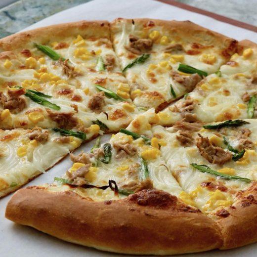 Tuna and Corn Pizza